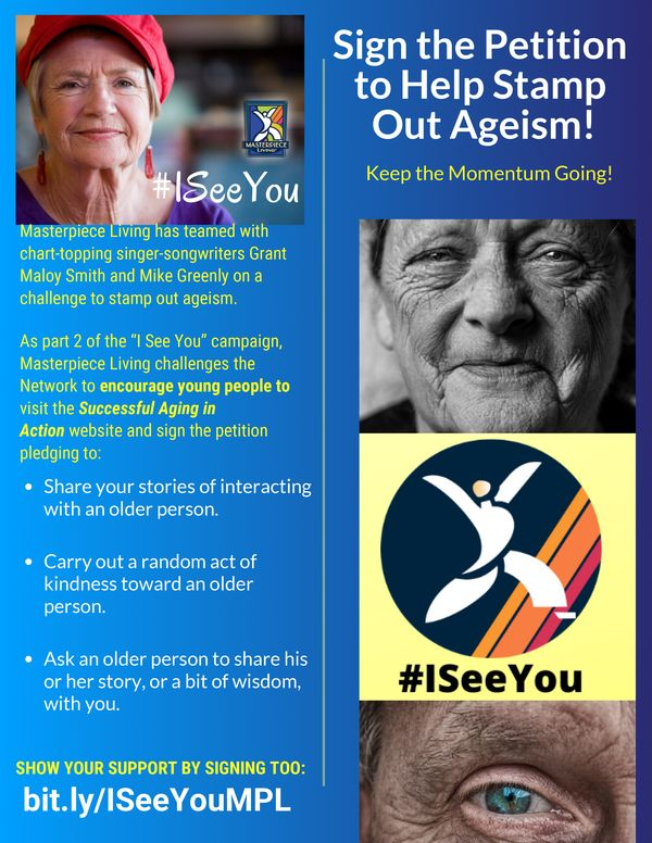 """I See You"" Campaign to Stamp Out Ageism"