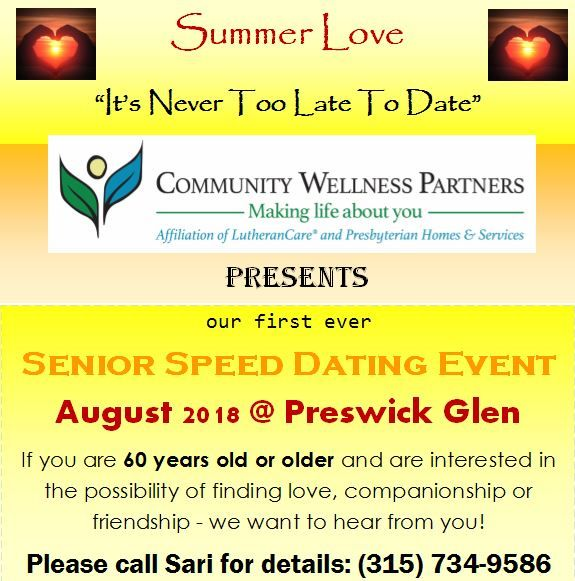 SUMMER LOVE - It's Never Too Late to Date