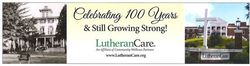 Community Wellness Partners is proud to announce LutheranCare's 100th Anniversary